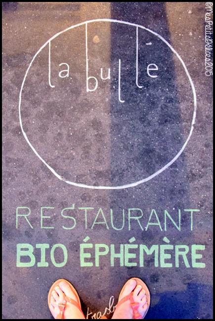 la bulle biocoop 11C La Bulle : Restaurant Bio éphémère à Strasbourg