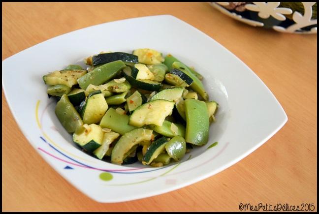 poêlée légumes verts kenya 4C Poêlée de légumes verts