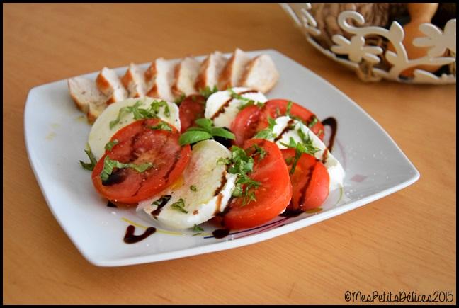 tomate mozza 1C ☼ Repas fraîcheur ☼ : Simple comme une tomate mozza