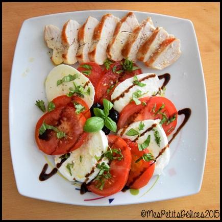tomate mozza 2C ☼ Repas fraîcheur ☼ : Simple comme une tomate mozza