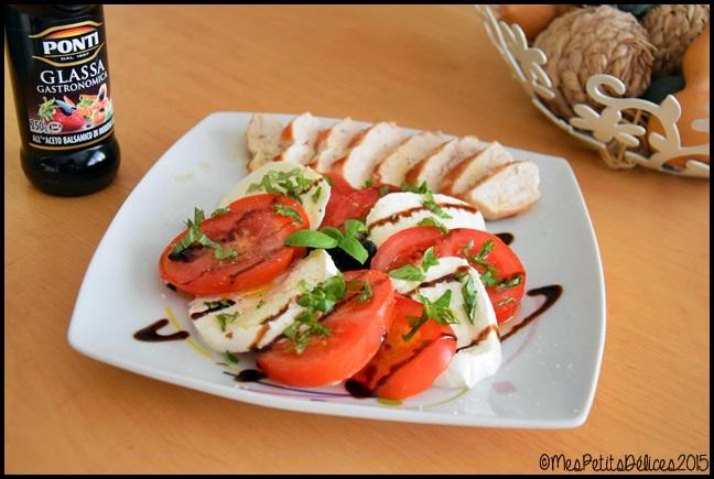 tomate mozza 3C ☼ Repas fraîcheur ☼ : Simple comme une tomate mozza