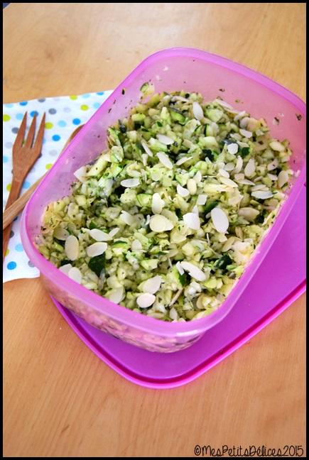 salade courgettes amandes 2C ☀ Recette fraîcheur ☀ : Salade de courgettes aux amandes