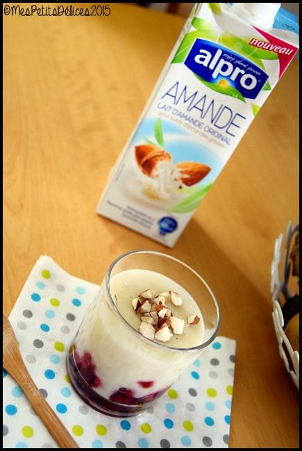 riz au lait amande framboise 2C Riz au lait damande et framboises {Thermomix}