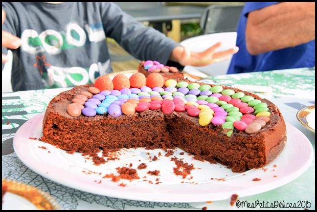 gateau moelleux chocolat 1C Gâteau très moelleux au chocolat