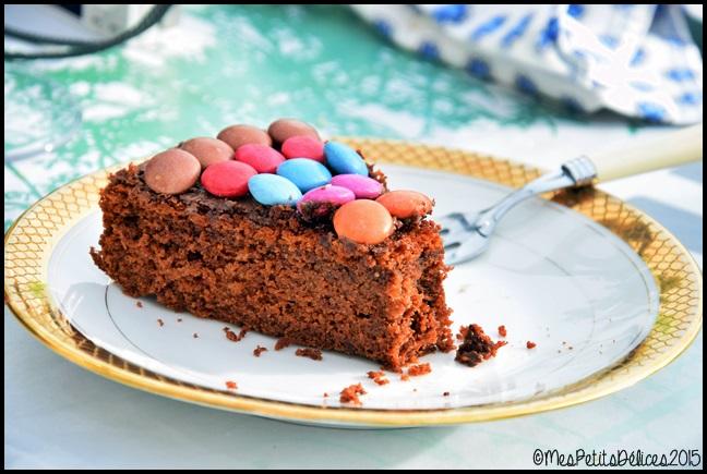 gateau moelleux chocolat 2C Gâteau très moelleux au chocolat