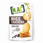 NA rice crackers 150x150 Gâteau poire et amande