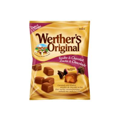 werthers tendre et chocolat Tarte aux pommes et au sirop dérable