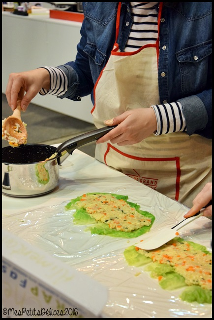 Egast 2016 7C Jai testé : les cours de cuisine au salon Egast