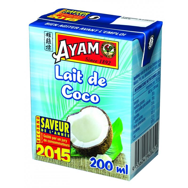 lait coco ayam Poulet au curry et lait de coco