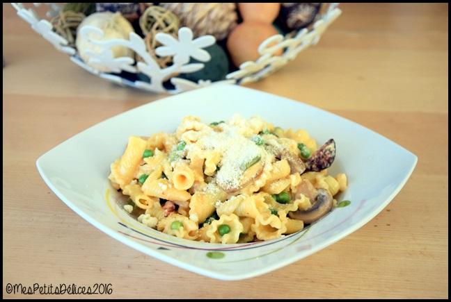 pates chorizo C Pâtes au chorizo : la recette gourmande dun soir de flemme