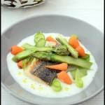filet de merlu et legumes de printemps 1C