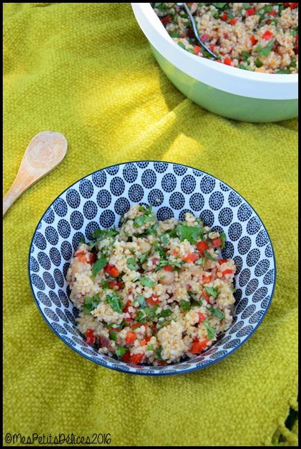 salade de boulghour a lorientale 1C Salade de boulghour à lorientale