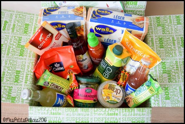 degustabox mai 2016C ☀ Recette fraîcheur ☀ : Salade de mâche et roquette à la noix de cajou, cranberry et fraises