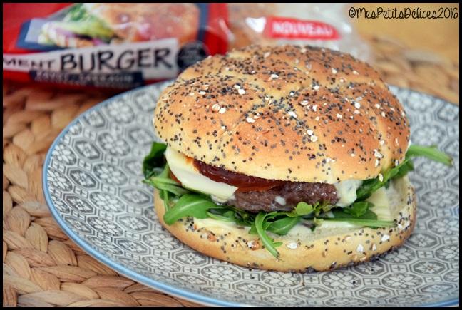 burger roquette 3C Burgers à la roquette et mozzarella