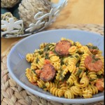 one pot pasta epinards chorizo 1C