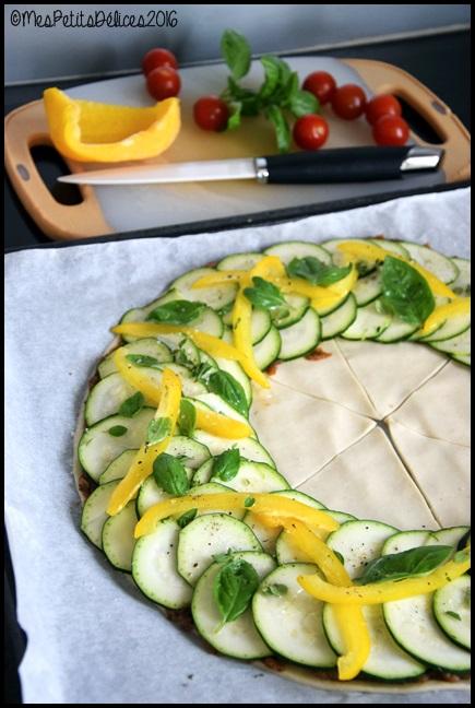 tarte etoile legumes d ete 1C Tarte étoile aux légumes dété