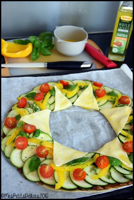 tarte etoile legumes d ete 2C Tarte étoile aux légumes dété