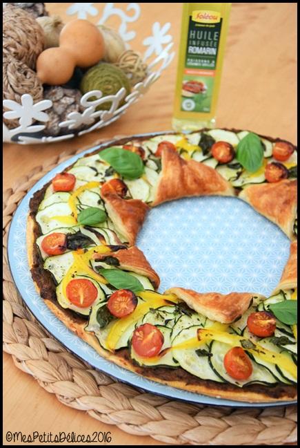 tarte etoile legumes d ete 3C Tarte étoile aux légumes dété