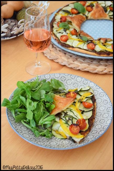 tarte etoile legumes d ete 5C Tarte étoile aux légumes dété