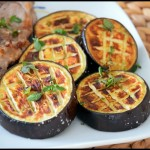 aubergines grillees au four 2C