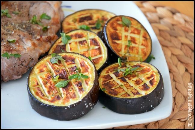 Aubergines grill es l 39 origan mes petits d lices - Langoustes grillees au four ...