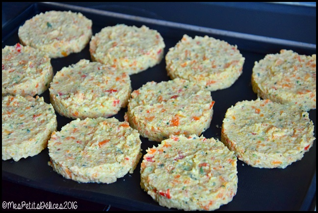 galettes de légumes 1C Galettes de légumes