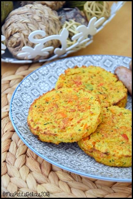 galettes de légumes 2C Galettes de légumes