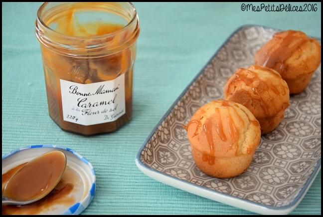 moelleux caramel fleur de sel 2C Petits moelleux au caramel à la fleur de sel de Guérande