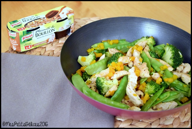 wok de dinde aux légumes 2C Wok de dinde aux légumes