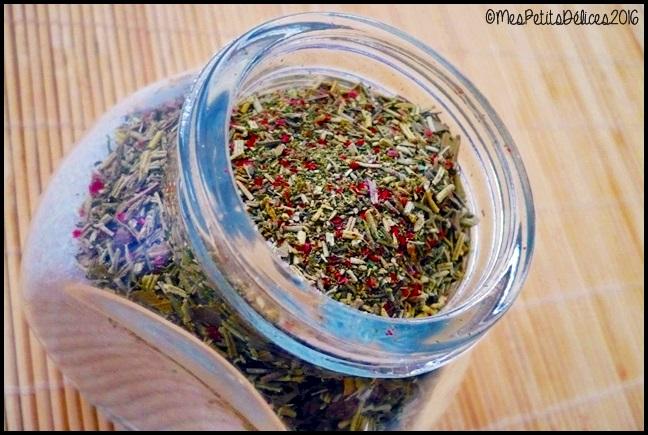 cadeau gourmand sel aux herbes 1C ★ Cadeaux Gourmands ★ Sel aux herbes