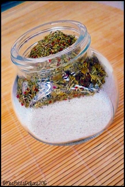cadeau gourmand sel aux herbes 2C ★ Cadeaux Gourmands ★ Sel aux herbes