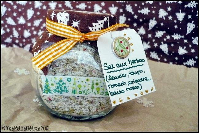 cadeau gourmand sel aux herbes 3C ★ Cadeaux Gourmands ★ Sel aux herbes