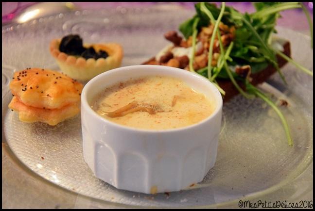 ravioles potimarron et cèpes sauce foie gras 1C ★ Recette de fête ★ Ravioles au potimarron & aux cèpes, sauce au foie gras