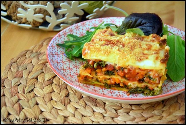 lasagnes legumes d hiver 2C Lasagnes aux légumes dhiver