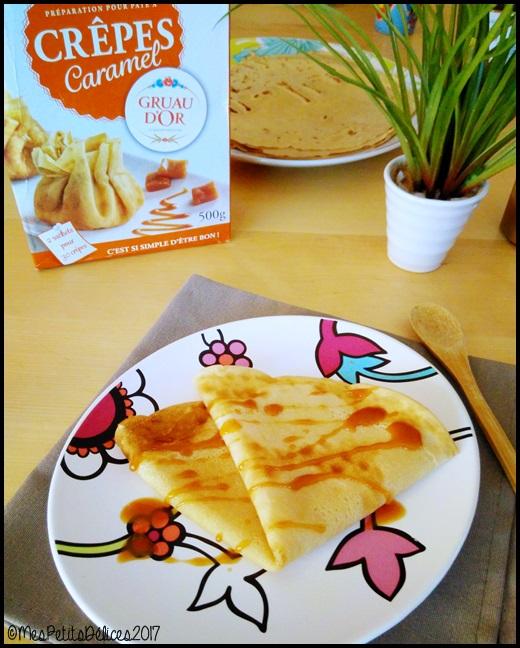 crêpes caramel Gruau dOr Degustabox C {Test # 6} La préparation pour crêpes caramel Gruau dOr