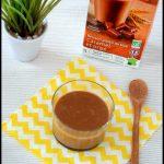 Verrines de crème soja orge caramel 3C