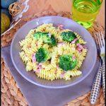 pâtes brocolis lardons 3C
