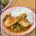 poulet olives coriandre 1C