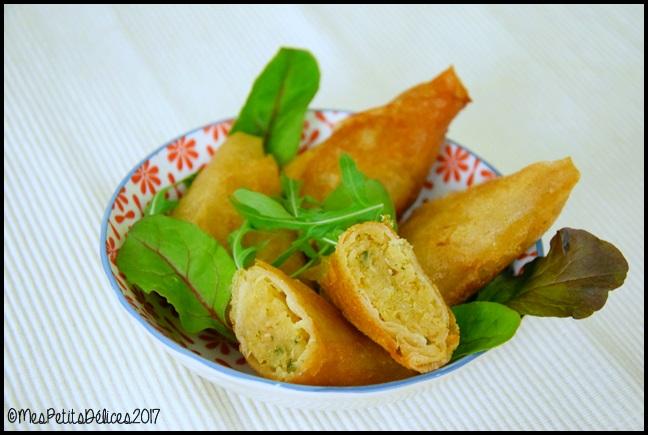 samoussas choucroute au curry 2C Samoussas à la choucroute et au curry