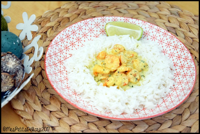curry de crevettes 2C Crevettes au curry