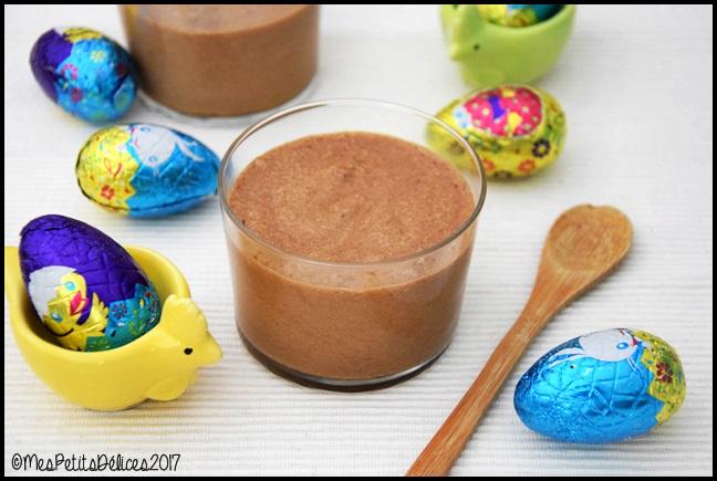 mousse au chocolat praliné 2C Mousse au chocolat praliné post Pâques