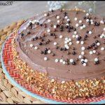 Gâteau au chocolat ganache mascarpone cacao et fève tonka 2C