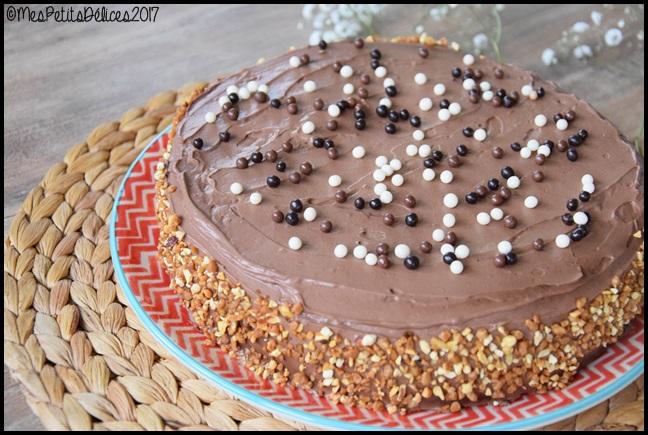 Gâteau au chocolat ganache mascarpone cacao et fève tonka 2C Gâteau au chocolat, ganache mascarpone, cacao et fève tonka