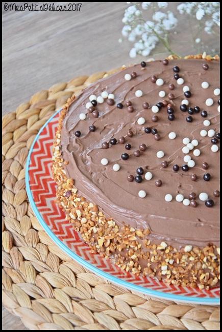 Gâteau au chocolat ganache mascarpone cacao et fève tonka 3C Gâteau au chocolat, ganache mascarpone, cacao et fève tonka