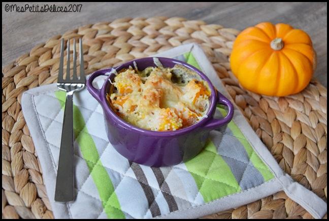 gratin butternut quinoa 1C 2 Gratin de butternut et quinoa