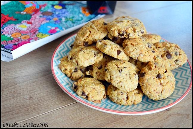 cookies noisette chocolat 4C Cookies à la noisette et aux pépites de chocolat