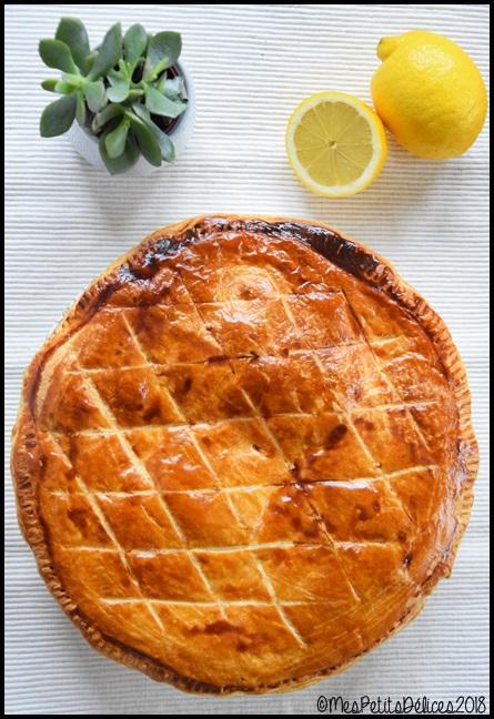 galette lemon curd 3C Galette des rois au citron