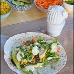 wraps poulet légumes sauce aux épices douces 5C