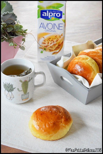 pains au lait davoine 4C Petits pains au lait davoine
