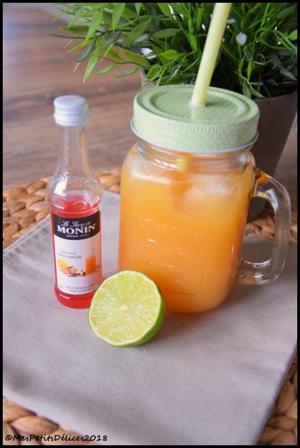 punch planteur Monin C 2 recettes de cocktail avec les sirops Monin